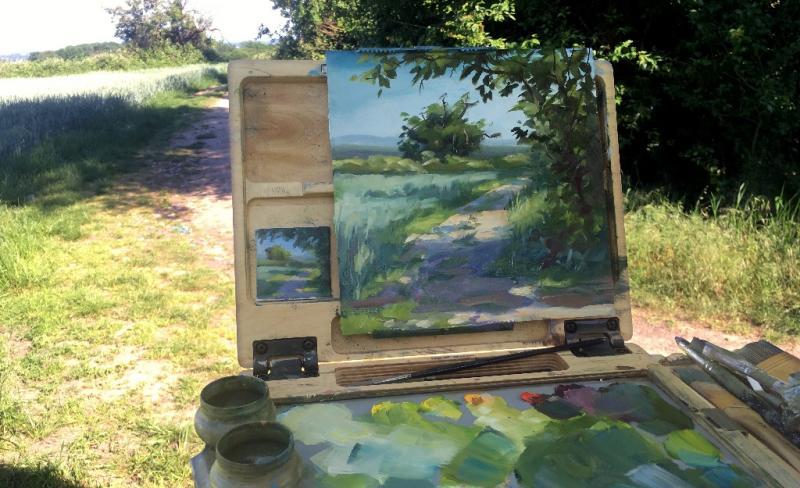 Pleinairmalerei – Mal einfach draußen!