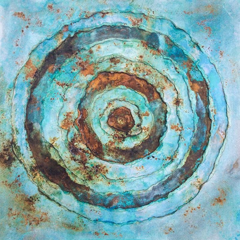Oxidative Malerei - Die Metamorphose der Farbe