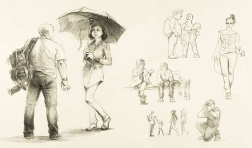 Skizzentraining: Figuren schnell zeichnen