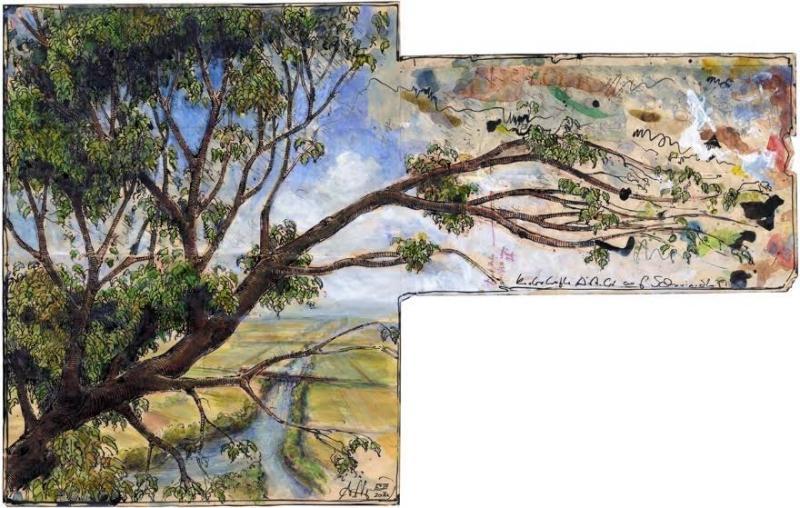 Zeichenkurs: Blätter, Äste, Bäume und Urtume