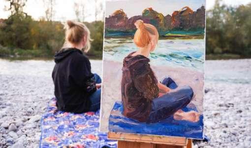 Vom Foto zum Ölbild - Ölmalerei leicht gemacht!