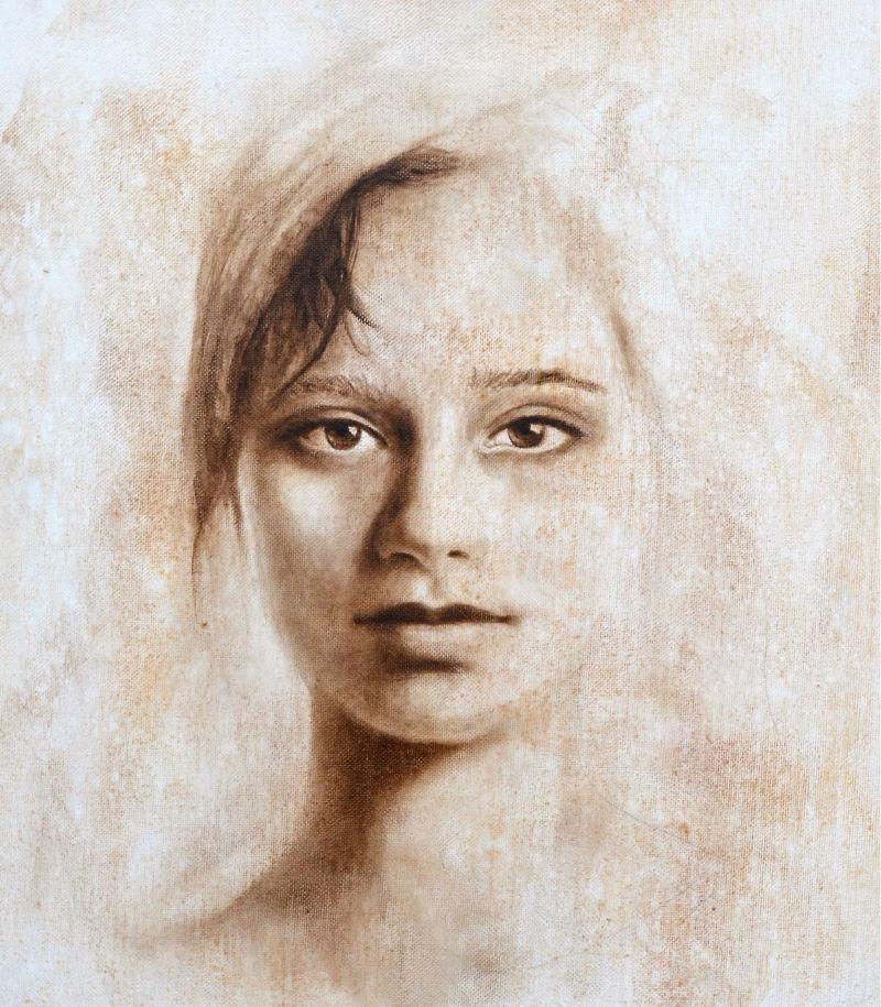 Portraitzeichnen nach Fotos