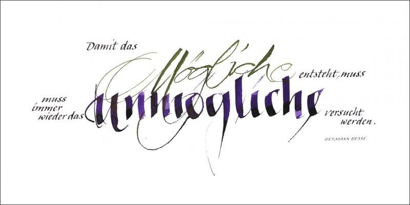 Klassische Kalligrafie
