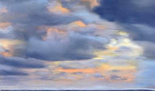 Faszination Pastellmalerei: Wasser, Wellen, Wolken und mehr