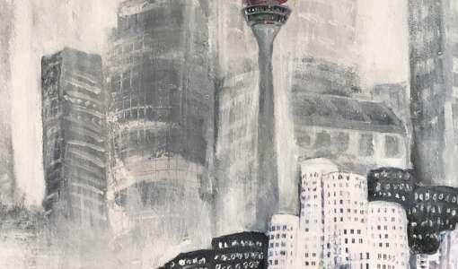 Reihe Malen & Zeichnen: Acrylfarben für Architektur und Fluchtpunkte