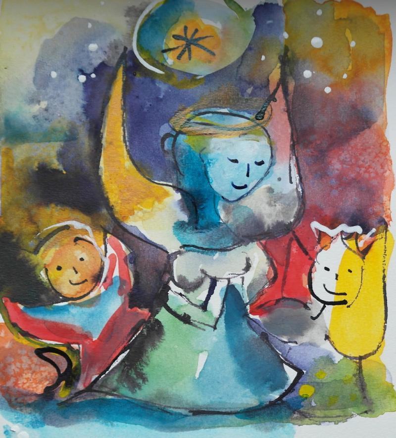 Paul Klee und die Engel
