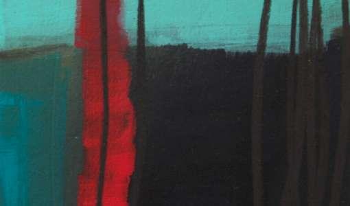 Moving Linie - Linie und Farbe in der Malerei