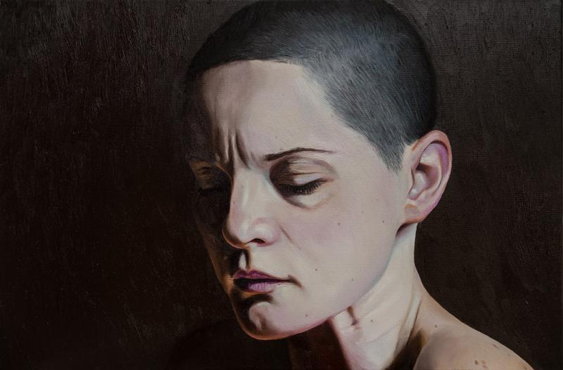 Naturalistische Portrait-Ölmalerei