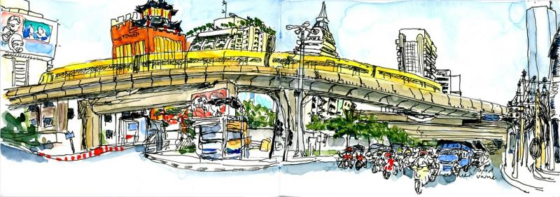 Urban Feeling – Urban  Sketching