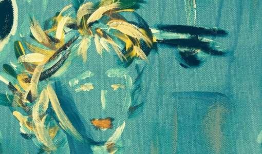 Portraitmalerei experimentell