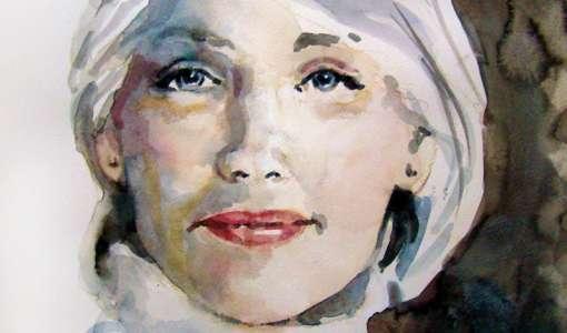 Porträt Aquarell