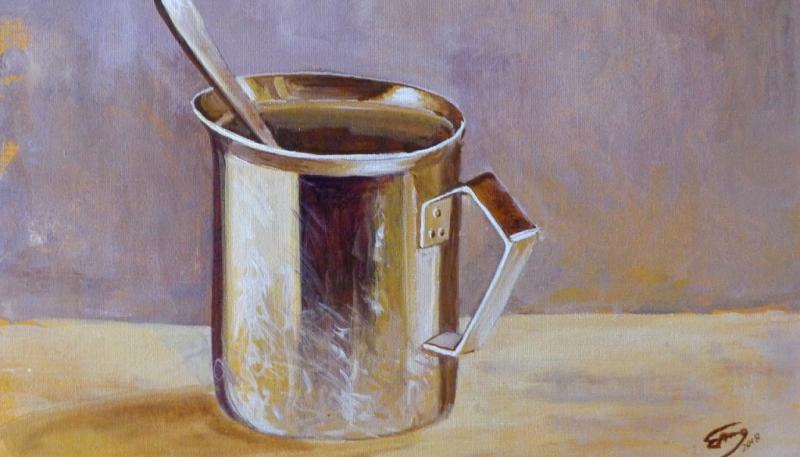 Glanz und Spiegelungen in der Acrylmalerei
