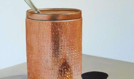 Glänzende Metall-Objekte