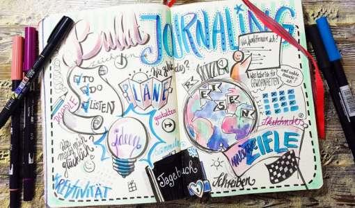 Journaling, Doodeling und Sketchnotes