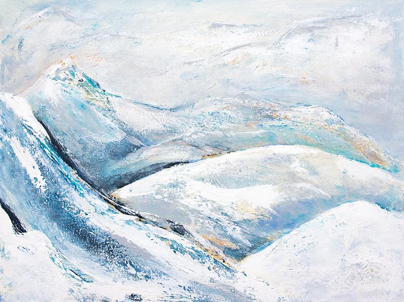 Eisige Bergwelten