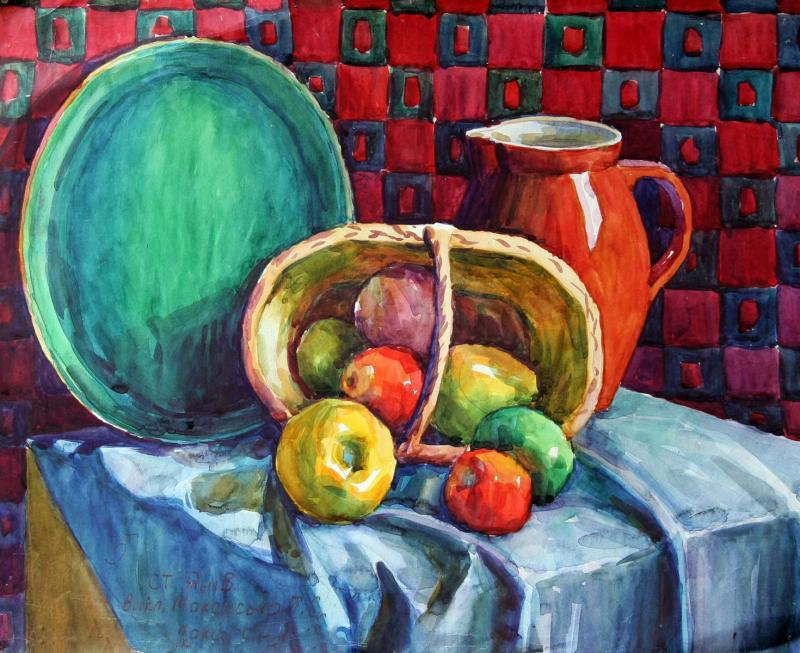 Stillleben - Zeichnen und Malen in Farbe