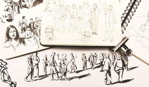 **Menschen skizzieren - bringen Sie Atmosphäre in Ihre Urban Sketches
