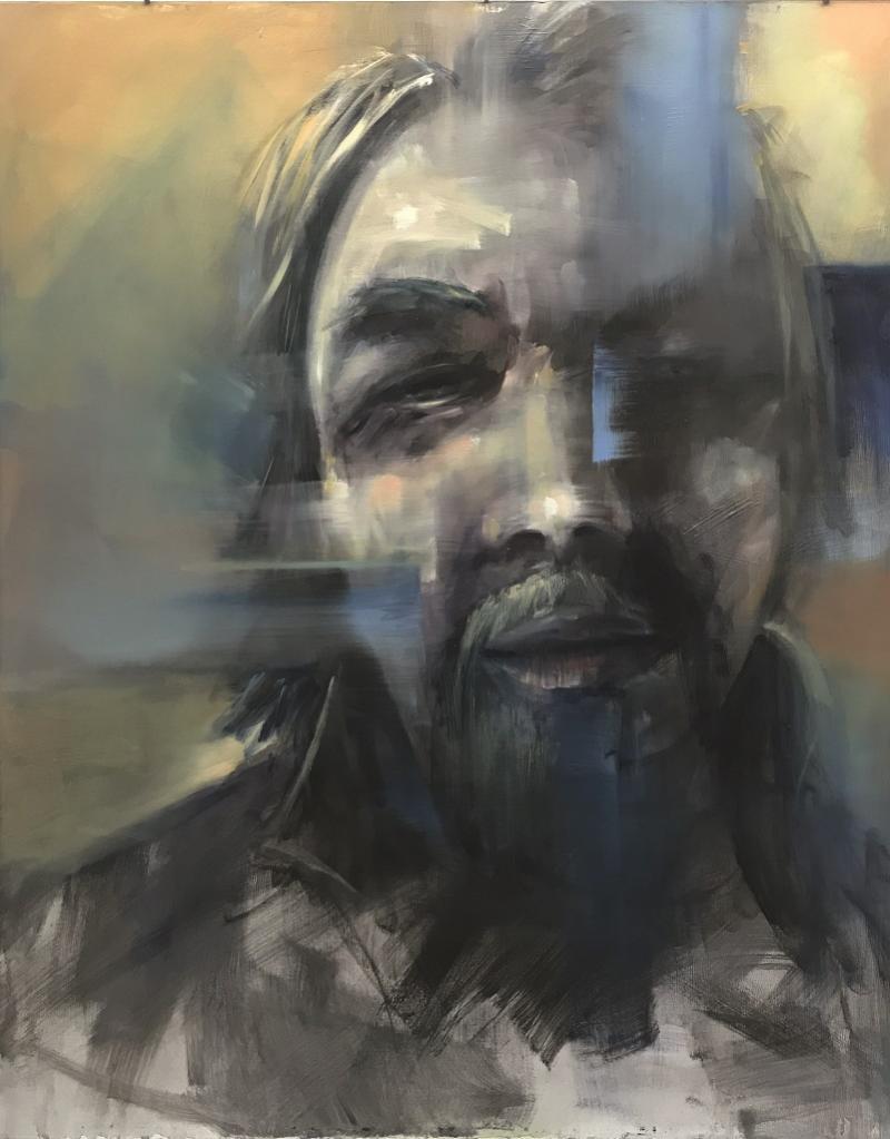 Locker malen: Der Zufall beim Thema Gesicht