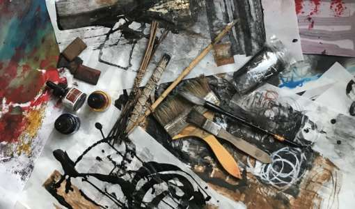 """""""MARK MAKING"""" in der Welt der abstrakten Kunst"""