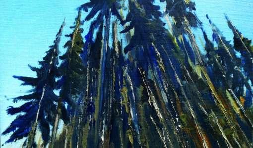 Landschaften malen mit Öl-/Acrylfarben