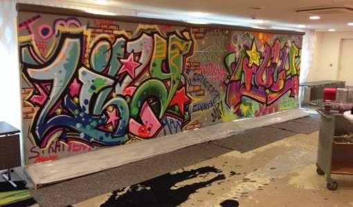 *Graffiti - Ein Hauch von Kunst-Rebellion