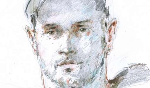Porträt in Buntstift - eine Einführung