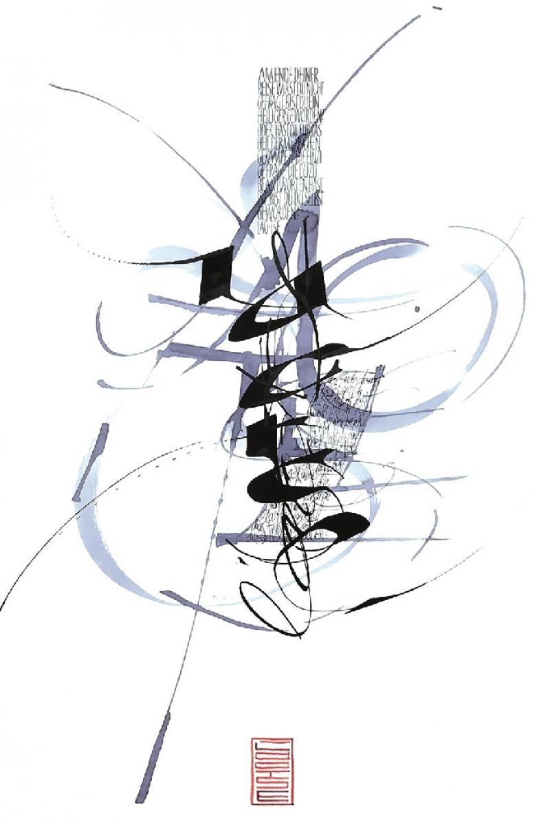 Kalligrafie – oder die Stille Kunst eine Feder zu führen