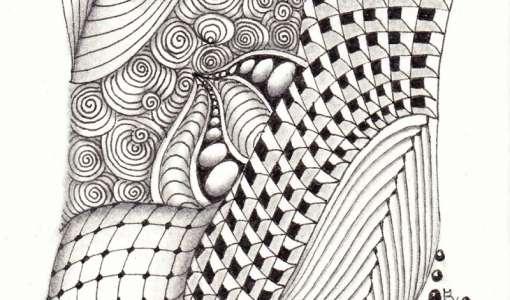 Eintauchen in die zauberhafte Musterwelt mit Zentangle®