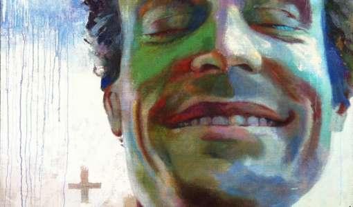 Porträt in Acryl – großformatig und expressiv