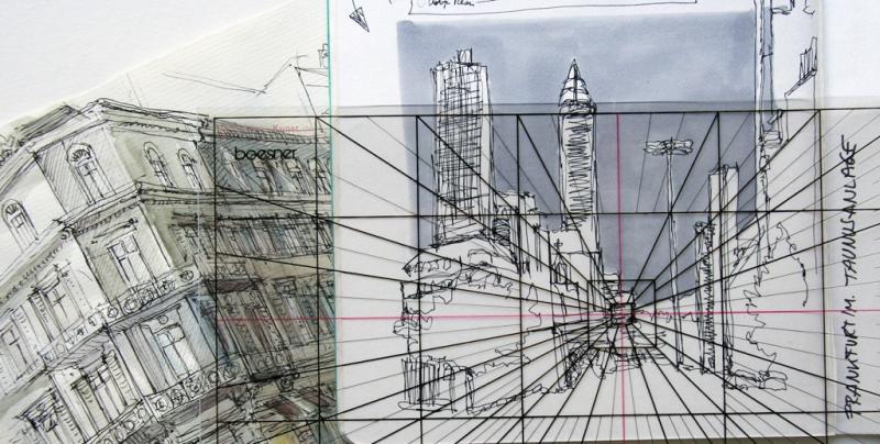 Urban Sketching und Perspektive