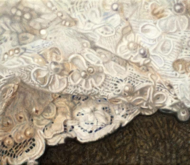 Stoffoberflächen in der Malerei - Trompe-l'œil und Fotorealismus