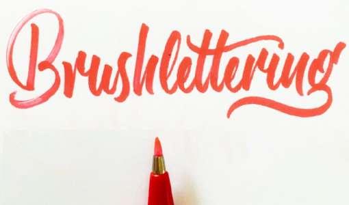 Brush Lettering Day