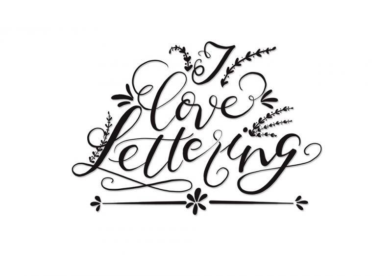 Handlettering: Fake Calligraphy