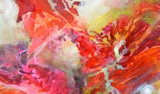 Farbmelangen der besonderen Art: Grenzgang zwischen Aquarell und Acryl