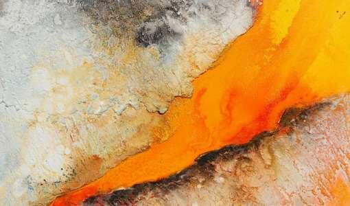 **Entdeckungsreise Acrylmalerei - Strukturen und Oberflächen