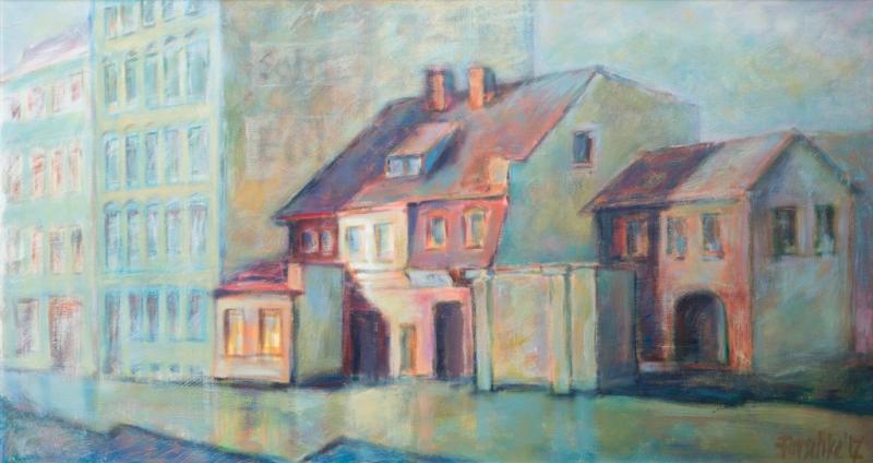 Acrylmalerei: Mit Licht und Schatten Atmosphäre schaffen