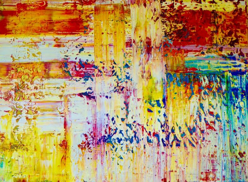 Intuitive Malerei - Form und Farbe