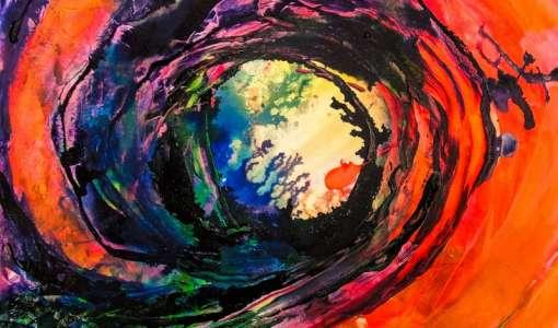 Neon und Andere: Kontrastspiele auf Leinwand