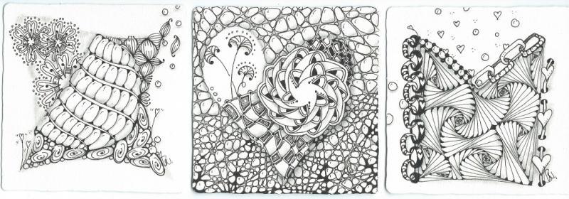 **Zentangle® - die meditative Zeichenkunst