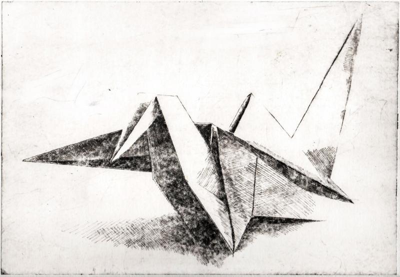 Drucken mit Rhenalon - Radierungen mit modernen Materialien