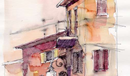 Urban Sketching für Fortgeschrittene