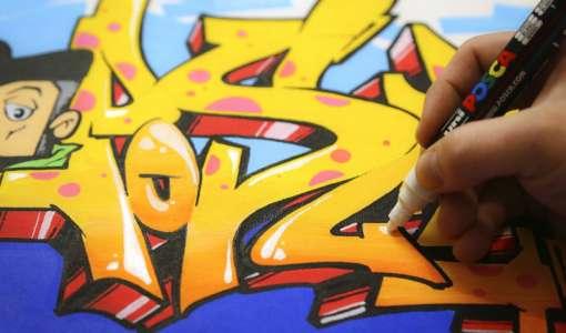Urban Art - Die Kunst mit den Markern