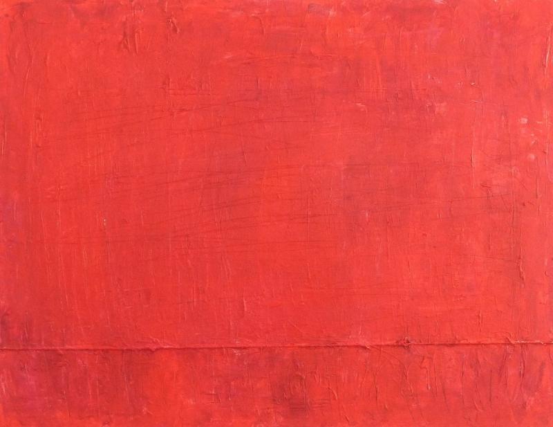 **Monochromes Rot – sehen, spüren, malen
