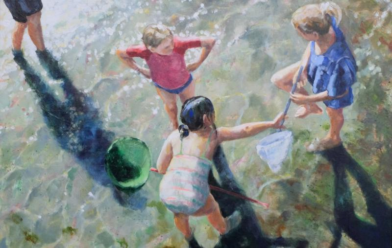 Menschen am Wasser