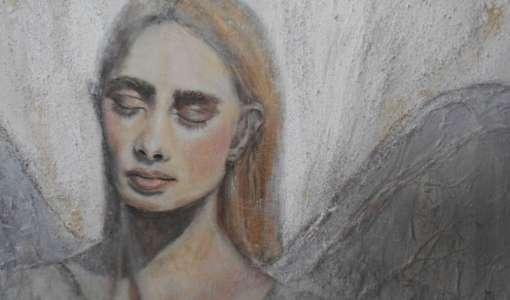 Engelporträts - abstrahiert, sinnlich, kraftvoll!