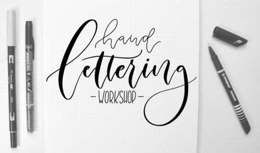 Hand- und Brushlettering Workshop