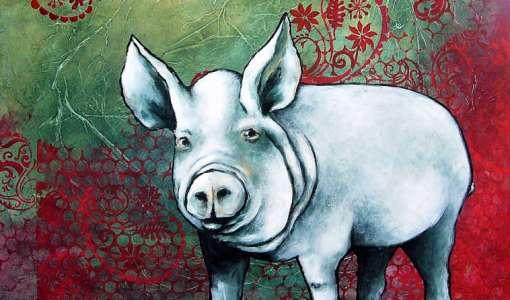 Tierdarstellungen - abstrakt bis realistisch