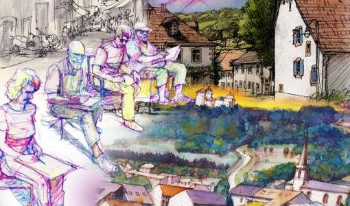 Landschaftsskizzen & Urban Sketching - ein kreatives Skizzenbuch