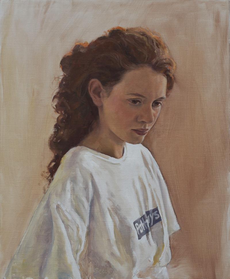 Porträt in Öl