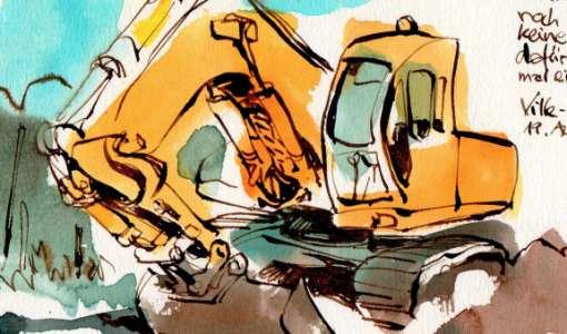 Abenteuer Urban Sketching